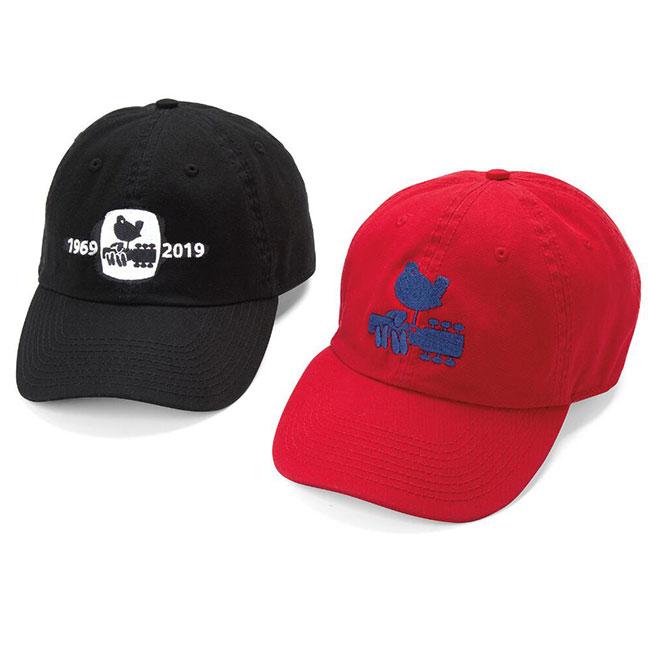 Woodstock 50th Anniversary Hats