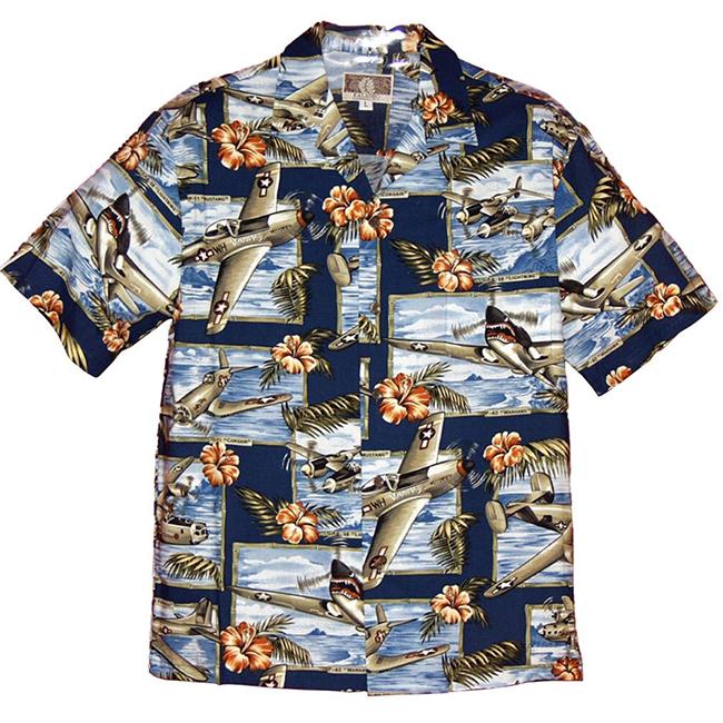 Vintage WWII Aloha Shirt