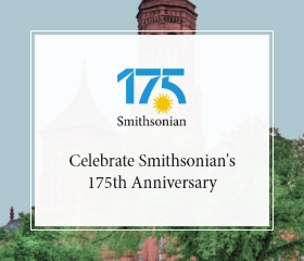 Shop Smithsonian's 175th Anniversary Collection