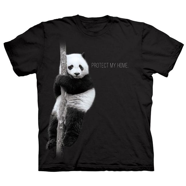 Protect My Home Panda T-Shirt