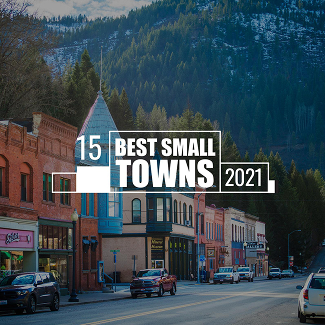 The 15 Best Small Towns to Visit in 2021