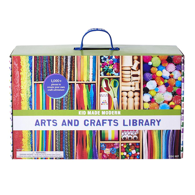 Kid Made Modern Arts Crafts Library
