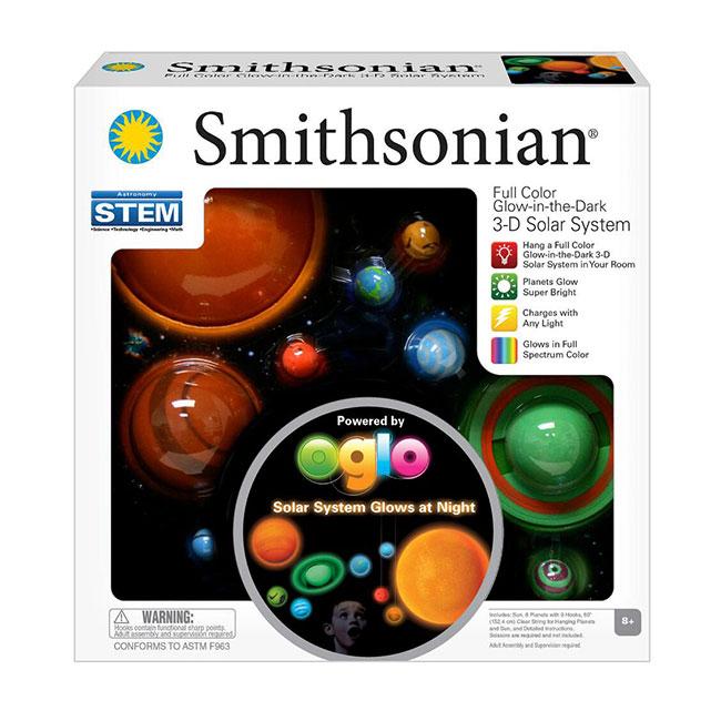 Smithsonian Glowing 3-D Solar System Kit