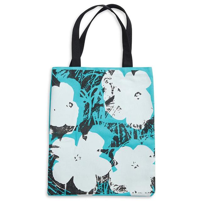 Andy Warhol Poppies Tote Bag