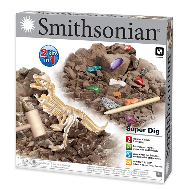 Smithsonian Two-In-One Super Dig Kit